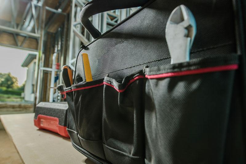 villanyszerelő szerszámos táska